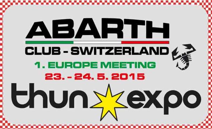 Europeisk Abarth treff i Sveits i Pinsen