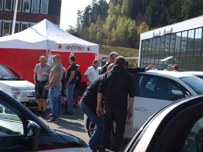 Italiensk Vårslipp 2015 på Autovia 9. mai